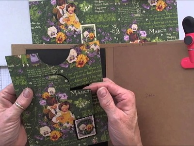 Making a Mini with Heartfelt Creations Flip Fold Album