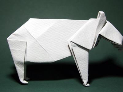 Origami Bear (John Montroll) - Part 1