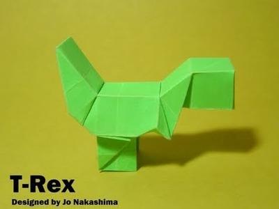 Origami Block T-Rex. Yoshi (Jo Nakashima) - Dinosaur #2
