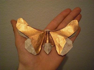 "Origami Butterfly ""Tropico"" (Alexander Kurth) Tutorial"