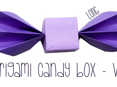 Origami Candy Box Tutorial ♥︎ Long Version ♥︎