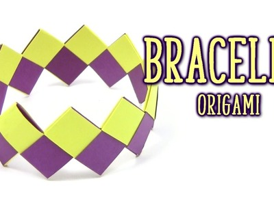Origami Cool BRACELET - Yakomoga Origami tutorial