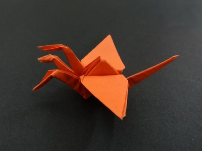 Origami Crane Tutorial: How to fold 3 Headed Origami Crane