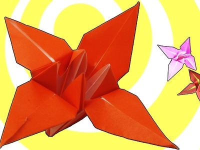 Origami Flower Lily. Iris Instructions [HD]