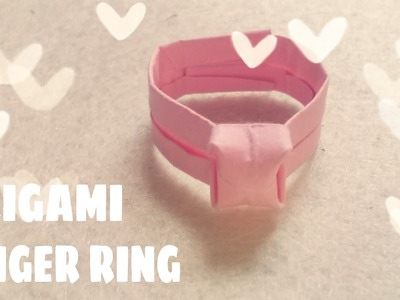 Origami for Kids - Origami Diamond Ring