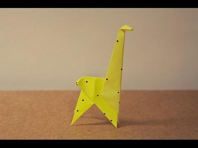 Origami Giraffe - Origami Easy Giraffe For Beginners.