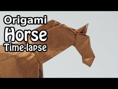 Origami Horse - Time-lapse (Jason Lin)