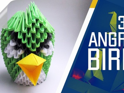 Origami - How To Make 3D Origami Angry Bird