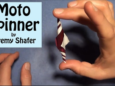 Origami Moto Spinner Designed by Jeremy Shafer