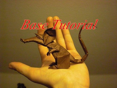 Origami Rat (Eric Joisel) Tutorials for folding and shaping