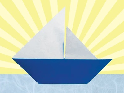 Origami Sailboat (Folding Instructions)