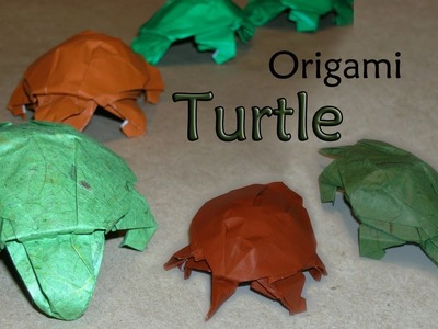 Origami Turtle by Robert J Lang