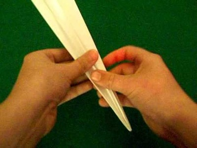 Paper Airplane Tutorial- The Modified Dart