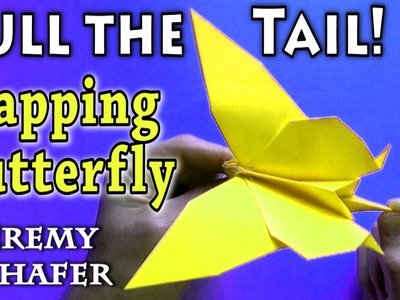Pull-the-Tail Flapping Butterfly (no music)