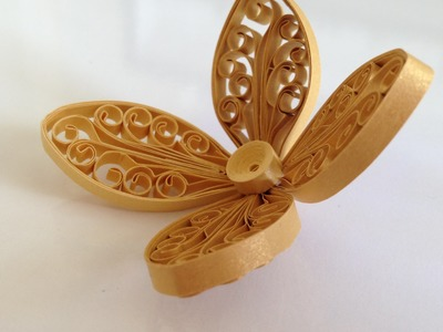 Quilling Flower Using Comb and Pillow