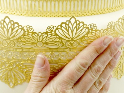Sugar Cake Lace Made Simple