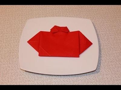 The Shirt Napkin Fold