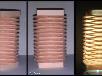 Tutorial 32 - Accordion Paper Folding Octagonal Shape