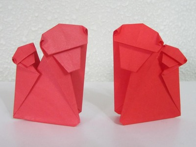 TUTORIAL - Origami Monkey (Mother & Child)