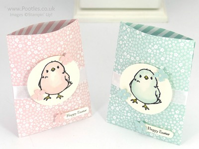 Watercolour Chick Treat Bags Tutorial