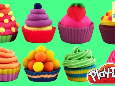 10 Playdoh Cupcakes Cookies Kids Kitchen Toys PlayDough Kids Crafts NEW