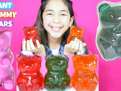 3 Giant Gummy Bears Gummy Candy Taste|B2cutecupcakes