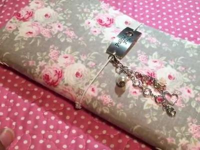 4 Shabbydoris (Shabby Fabric Notebooks) I've Made
