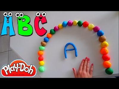 ABC Play-Doh | Alphabet PlayDough For Children