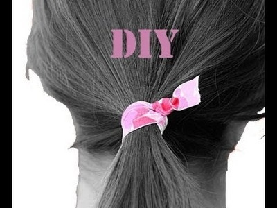 Back to School: DIY Twistbands -Hair Ties- (ENG SUBS)