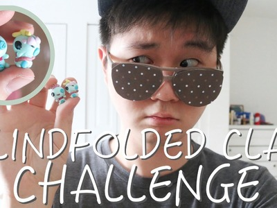 Blindfolded Clay Challenge: FAIL Scrump ft. MsParkPark