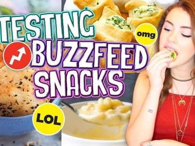 Buzzfeed Snack Recipes TESTED!! Easy & Delicious Snacks 2016!. Jill Cimorelli