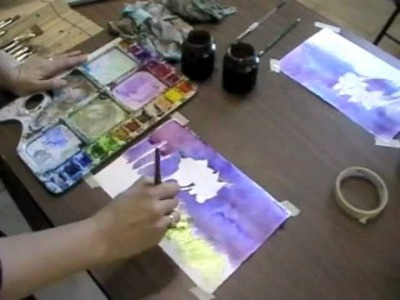 Children's Easy Watercolor Painting