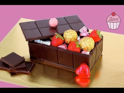 CHOCOLATE CANDY BOX | Fully Edible, No Bake Box of Chocolates | Elise Strachan