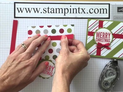 Christmas in July - Project #4 Gift Card Holder