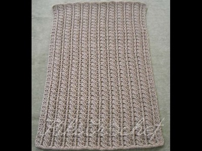 Crochet Cable Stitch Blanket (pt2)