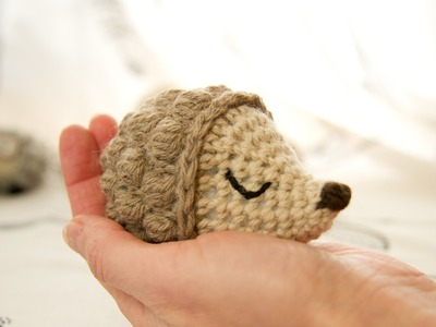 Crochet hedgehog part 2