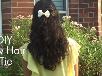 DIY: Bow Hair Tie