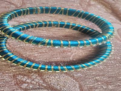 DIY - How to make Silk Thread Bangles