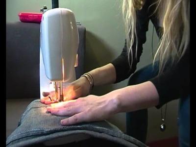 DIY : Transformer un jeans large en jeans slim