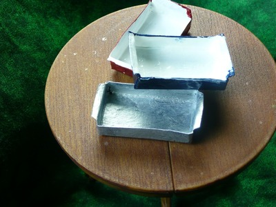 Dollhouse Miniature Baking Pan