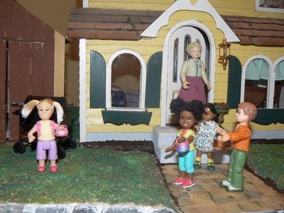 Dollhouse Miniature Easter Baskets