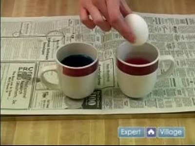 Easter Crafts for Kids : How to Dye Easter Eggs