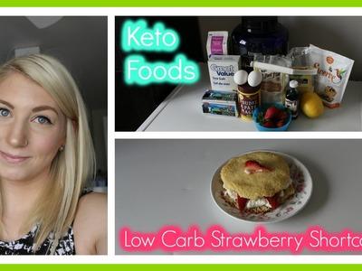Eating Keto 24: Low Carb Strawberry Shortcake