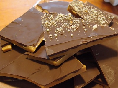 English Toffee Recipe - 3 ingredients