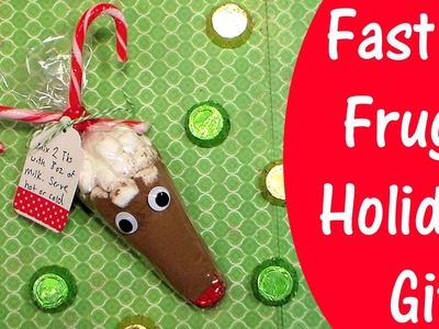 Fast & Frugal Reindeer Hot Cocoa Treat Cone