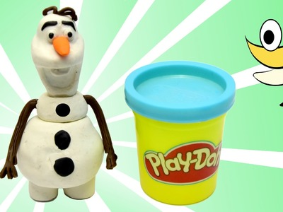 FROZEN olaf Play doh STOP MOTION videos  Playdough Animación de Disney Frozen  [4K] 60FPS