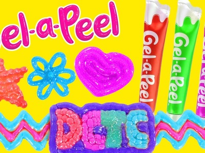 Gel-a-Peel NEW Sparkle GEL PENS Craft Jewelry - Bracelets, Earrings, Keychains (DCTC Toy Reviews)