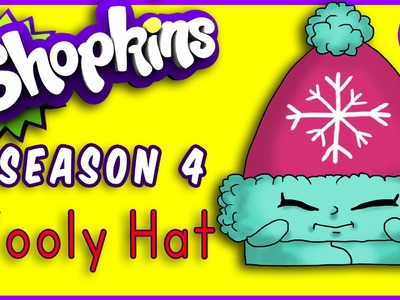 How to Draw Shopkins Season 4 Wooly Hat