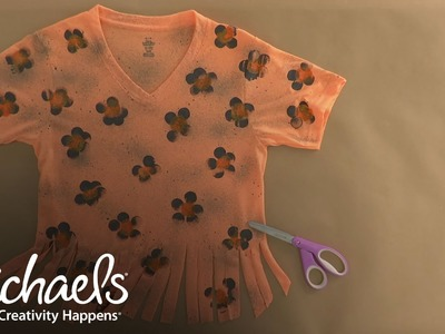 How to Make a Leopard T-shirt   Halloween Costumes & Party   Michaels