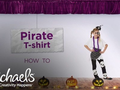 How to Make a Pirate T-shirt | Halloween Costumes & Party | Michaels